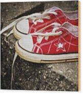 Princess Shoes Wood Print