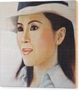 Princess Ubonrat Rachakanya Wood Print