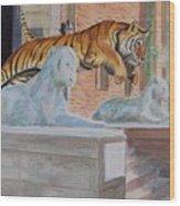 Princeton Tiger Wood Print