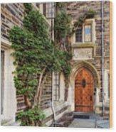Princeton University Foulke Hall II Wood Print
