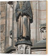 Princeton University J Witherspoon Statue  Wood Print