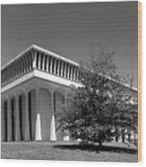 Princeton University Robertson Hall Wood Print