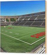 Princeton University Stadium Powers Field Wood Print