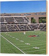 Princeton University Stadium Powers Field Panoramic Wood Print