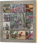 Print Collection French And Indian War Wood Print by Randy Steele