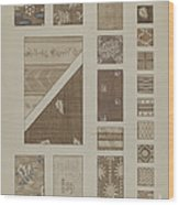 Printed Cotton Wood Print