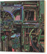 Printing Some Color Wood Print