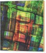 Prismatic 1 Wood Print