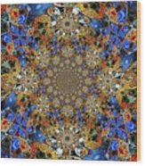 Prismatic Glasswork Wood Print