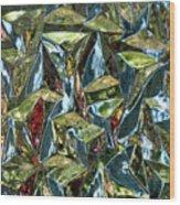 Prismic Jungle Wood Print