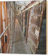 Prison Cells Wood Print