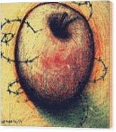 Prison Of Human Desire Wood Print by Paulo Zerbato