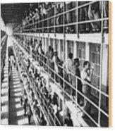 Prison: San Quentin, 1954 Wood Print