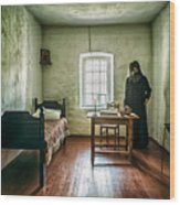 Prisoner In Jail Wood Print