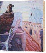Prisoner Of Tradition-day Of Hopi Eagle Sacrifice Wood Print
