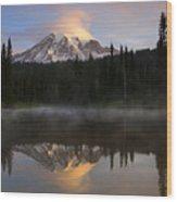 Pristine Reflections Wood Print