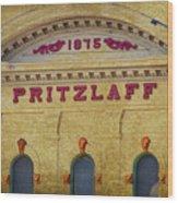 Pritzlaff Wood Print