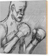 Prizefighter Wood Print