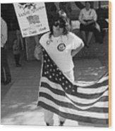 Pro Desert Storm Rally Tucson Arizona 1991 Wood Print