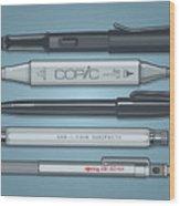 Pro Pens Wood Print