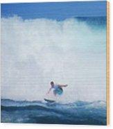 Pro Surfer Gabe King -6 Wood Print