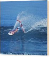 Pro Surfer Jamie O Brien #1 Wood Print