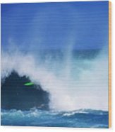 Pro Surfer Keanu Asing-1 Wood Print