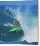 Pro Surfer Keanu Asing-2 Wood Print