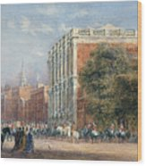 procession with Queen Victoria Wood Print