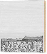 Proche Banlieue Wood Print