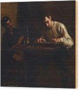 Professionals At Rehearsal 1883 Wood Print