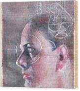 Profile Measured Wood Print