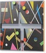 Progressiv Pop Art Msc 009 Wood Print