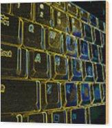 Progressive Keys Wood Print