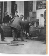 Prohibition, Prohibition Officers Wood Print