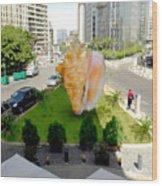 Project Lebanon Wood Print by Arlin Jules
