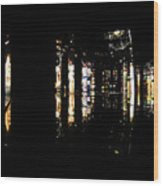 Projection - City 3 Wood Print
