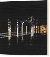 Projection - City 5 Wood Print