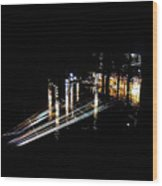 Projection - City 6 Wood Print