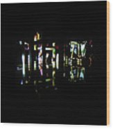 Projection - City 7 Wood Print