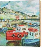 Promenade At Cobh Wood Print