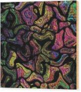 Prominent Entanglements Wood Print
