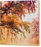 Promise Of A Brighter Future Wood Print