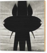 Propeller Abstract Wood Print