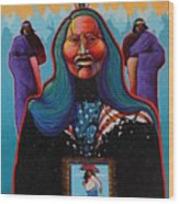 Prophets Vision Wood Print