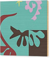 Prosperity - Celebrate Life 1 Wood Print
