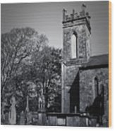 Protestant Church Macroom Ireland Wood Print