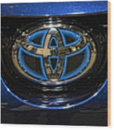 Prototype Toyota Mirai Logo Wood Print