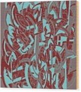 Protractor Memories Wood Print