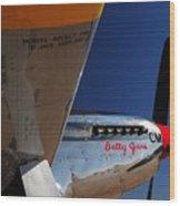 Proud Betty Jane Wood Print